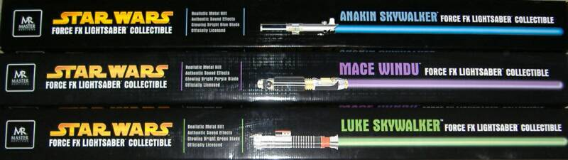 Luke Skywalker Return Of The Jedi Lightsaber Fx